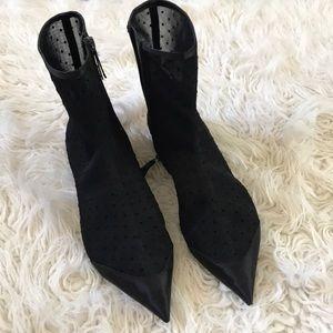 Zara Polka Dot Boots